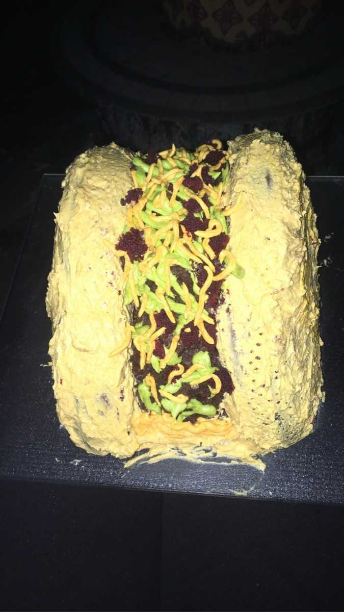 Taco Cake made by Christine Welton