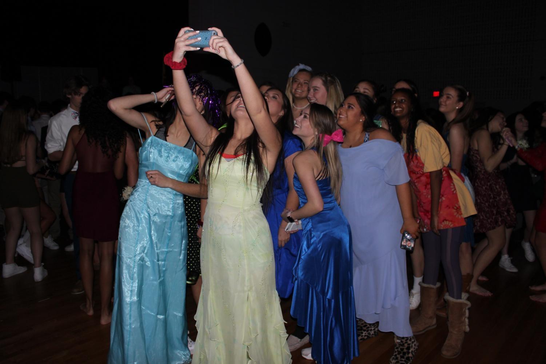Selfie at the winter dance.