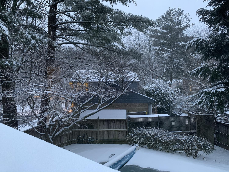 A break from school, spent in the snow!