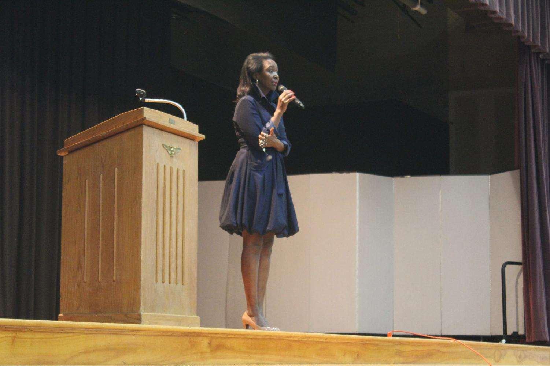 Immaculee described her journey surviving the Rwandan Genocide.