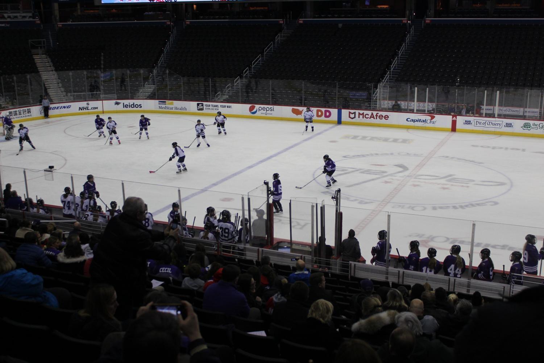 AHC ice hockey at capital one center