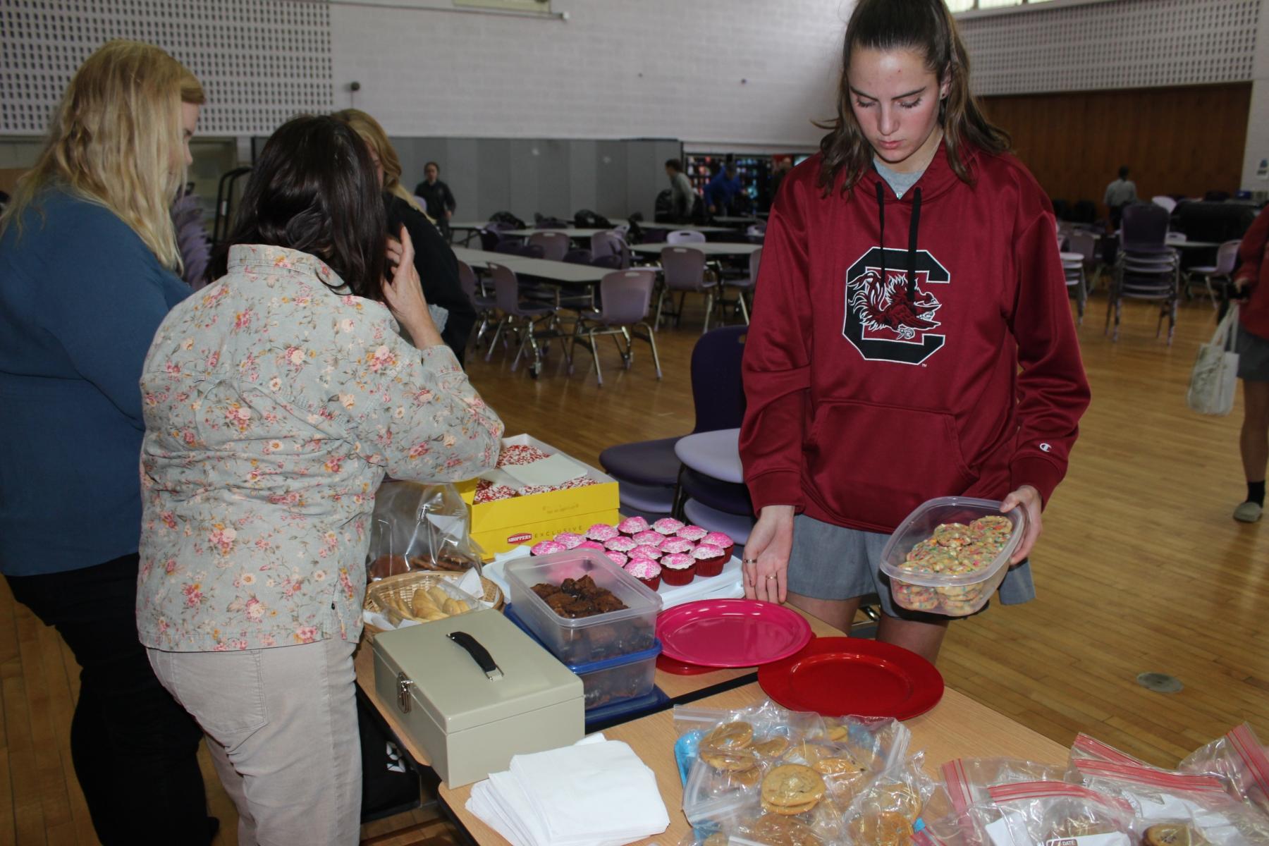Bake sale for Spanish Catholic Center
