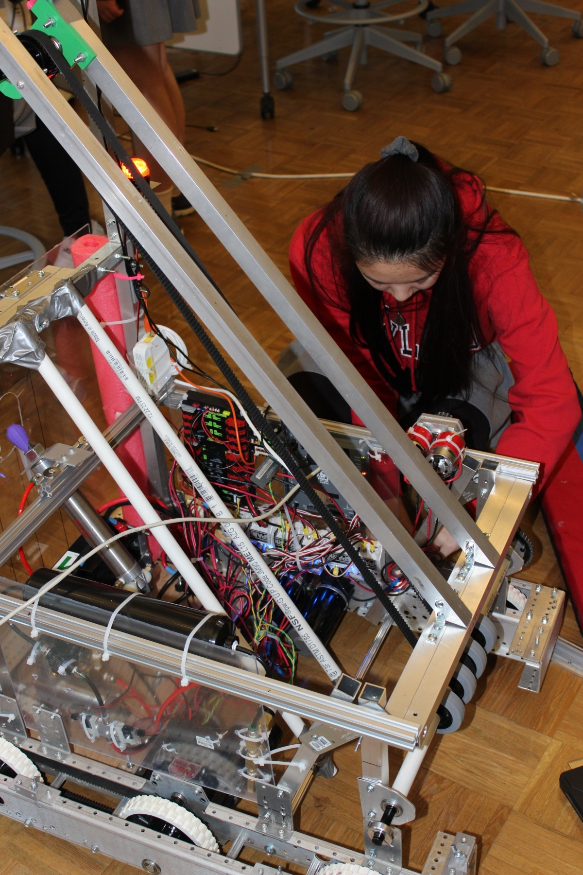Final fixes to the robot