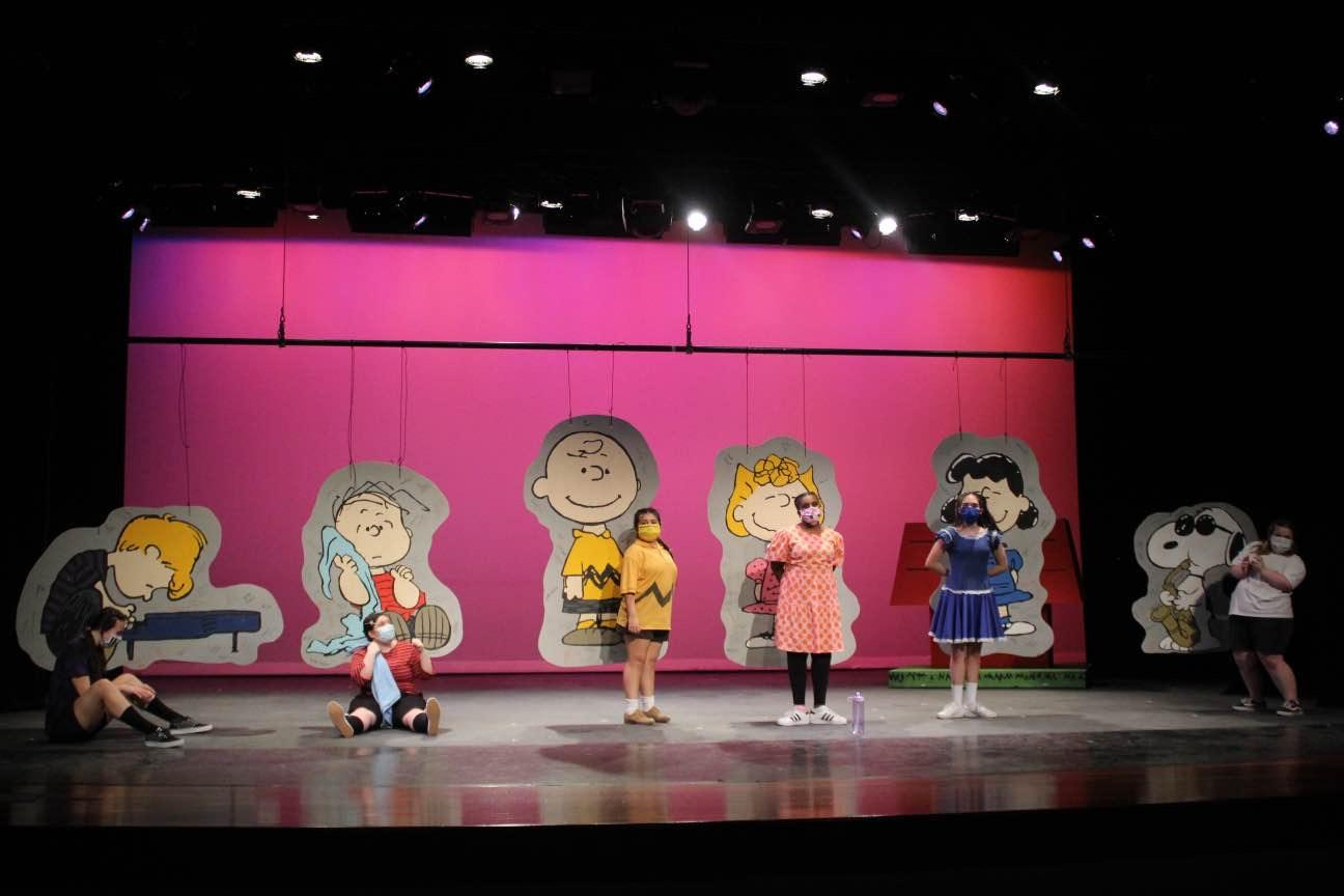 Once again, Holy Cross is putting on one of their wonderful performances. This year's musical is You're a Good Man Charlie Brown. Everything from the set, costumes, and props, to the acting, singing and dancing, was fun and exciting.