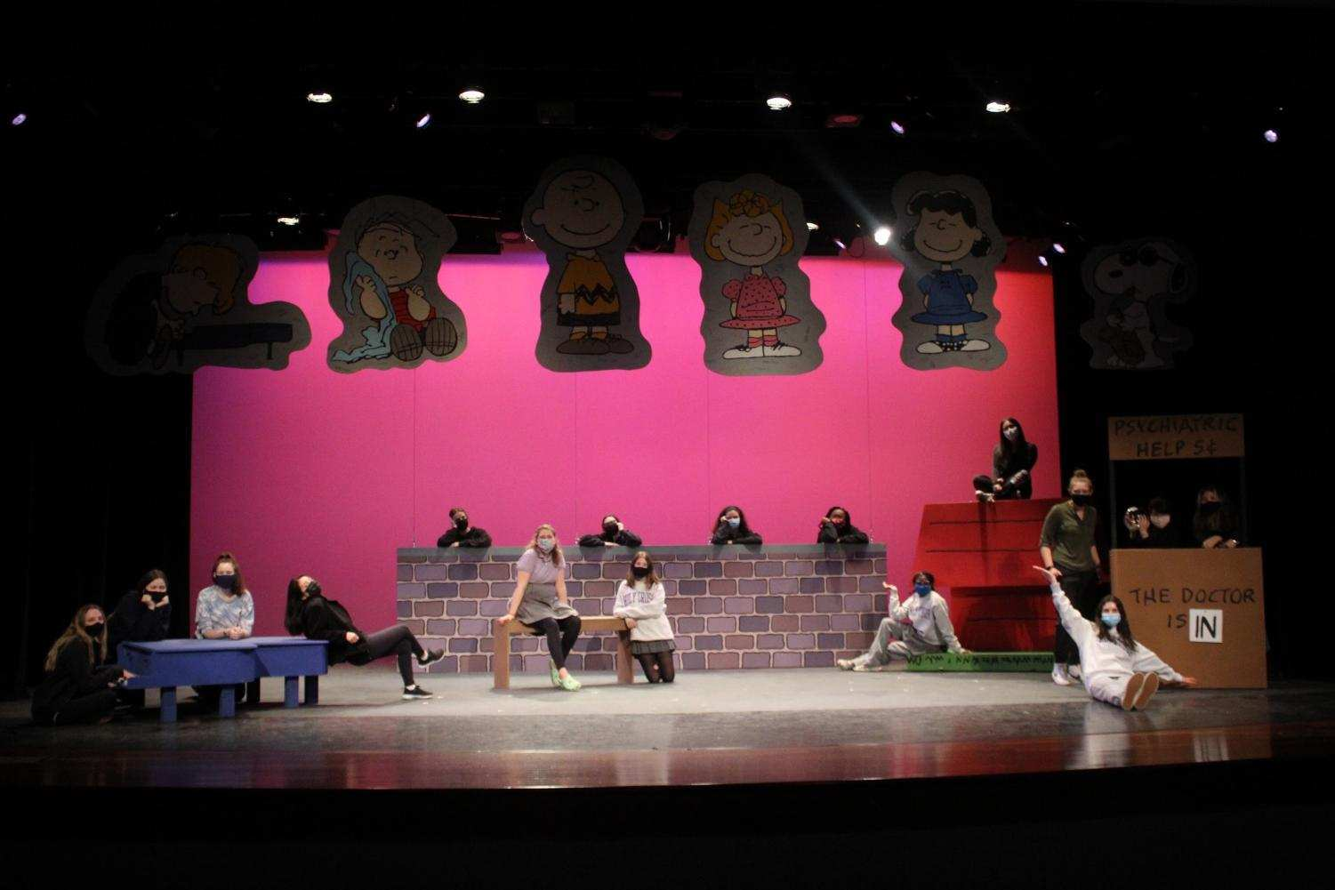 All of crew helped the production of You're A Good Man Charlie Brown run as smoothly as possible.