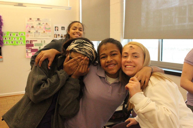 Freshmen in Spanish class