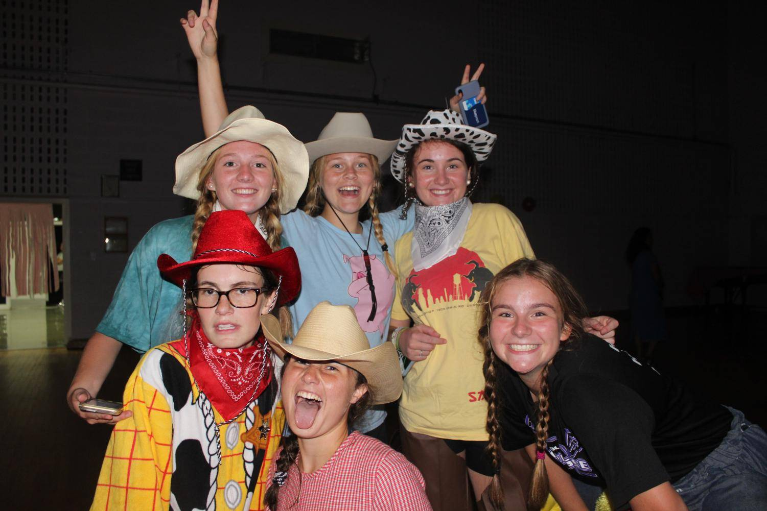 A great looking group of cowgirls.