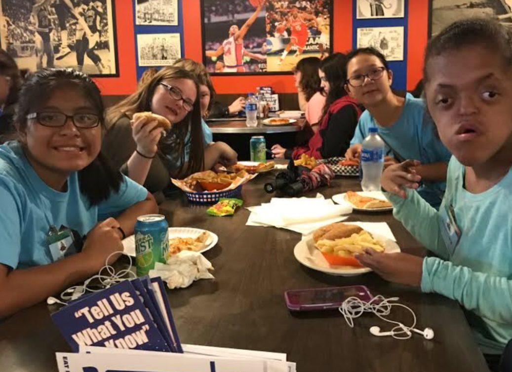 Tartans enjoying their trip to Syracuse.