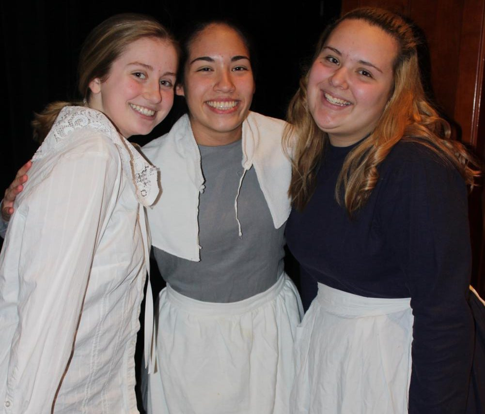 Members of The Crucible cast