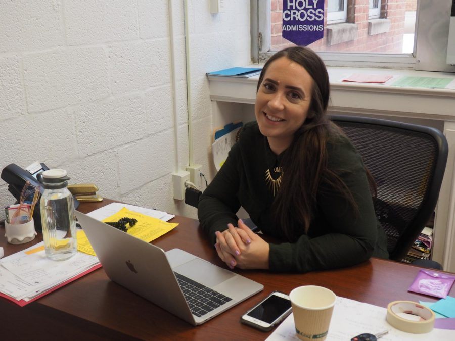 Behind the Desk: Admissions Office