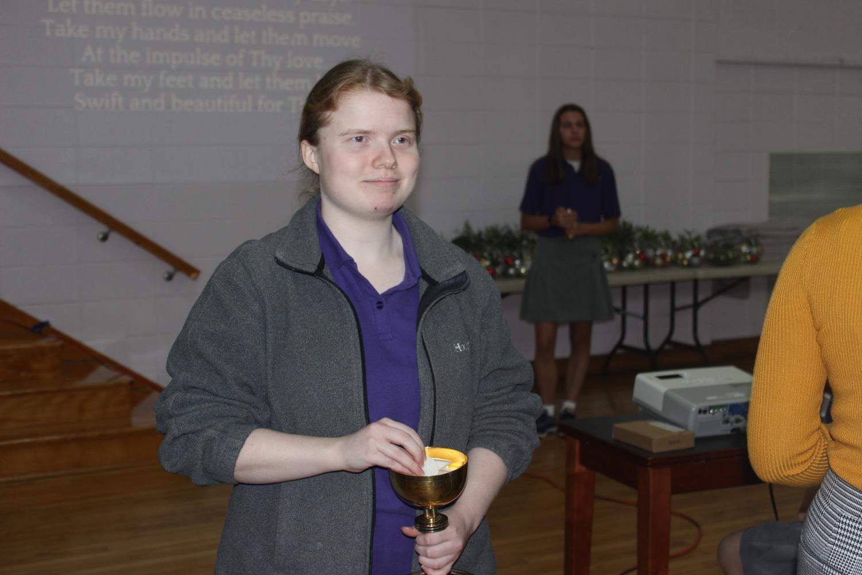 Peer Minister Molly Sullivan