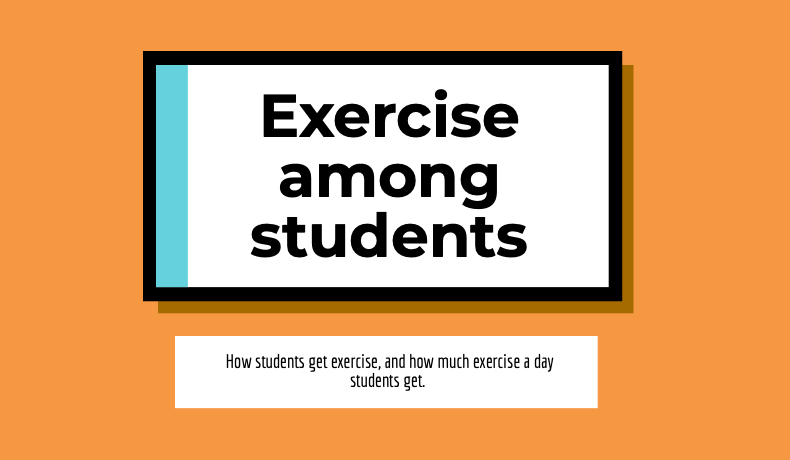 Exercise among students