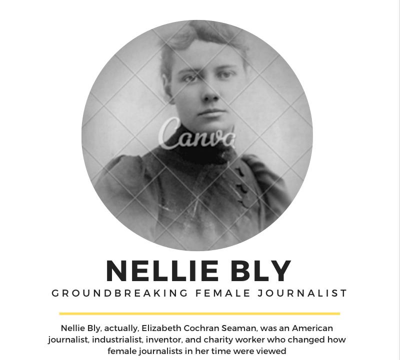 Women in Journalism: Nellie Bly
