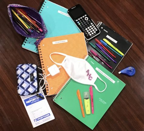 Common supplies used throughout this school year