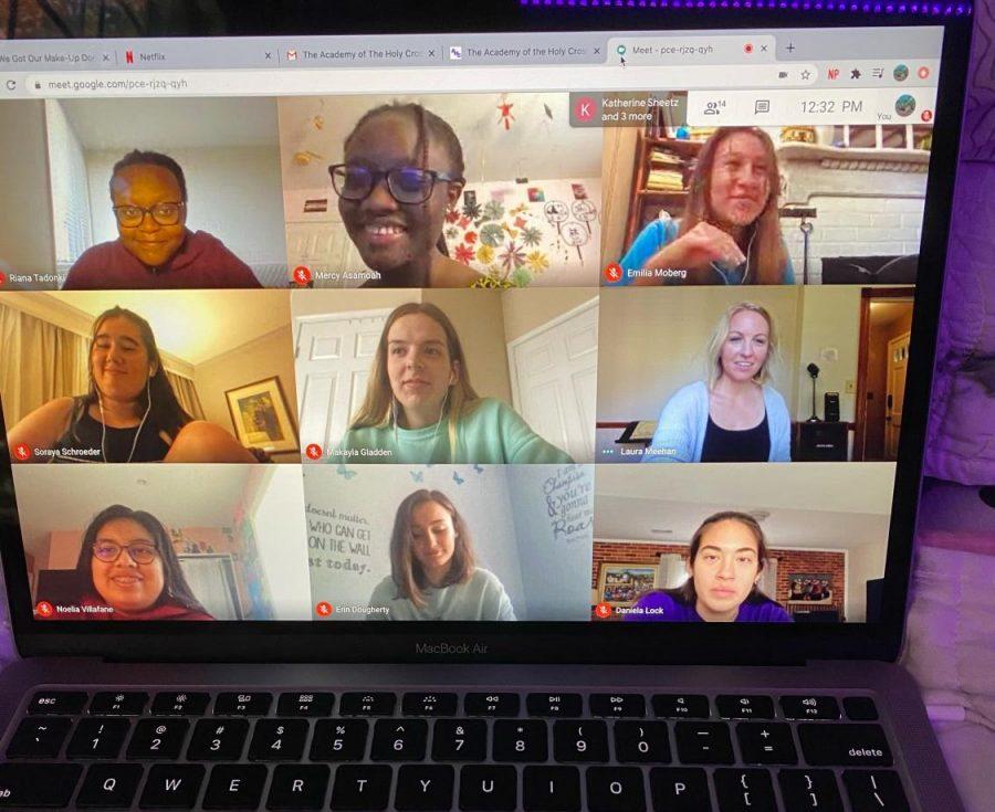Google Meet grid