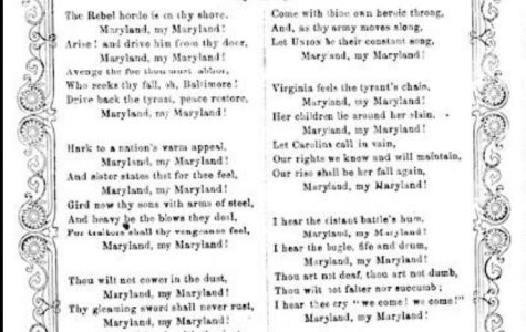 Photo by: Liberty of Congress  Maryland States Song Lyrics