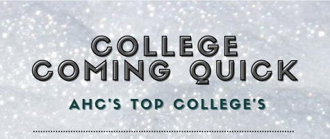 College is coming quick, here are AHCs LOTAs top type of colleges.